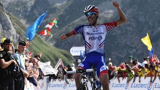 Tour de France: Thibaut Pinot s'impose au Tourmalet