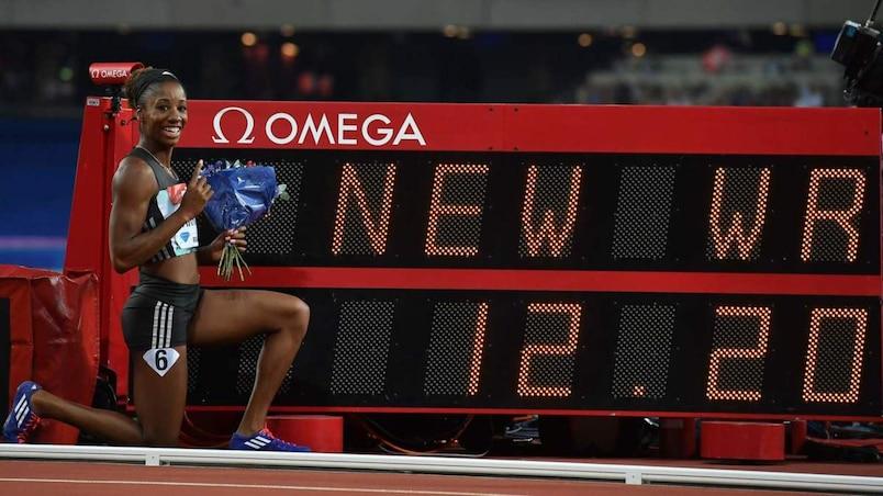 Harrison fracasse un record mondial