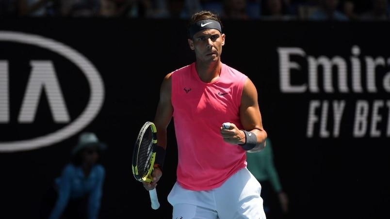 Nadal au deuxième tour des Internationaux d'Australie