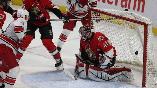 Ottawa Senators vs Caroline Hurricanes