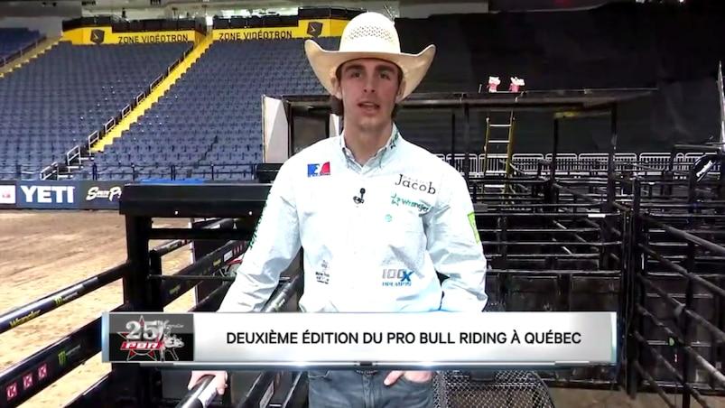 Zac Bourgeois, le cowboy le plus populaire au Québec