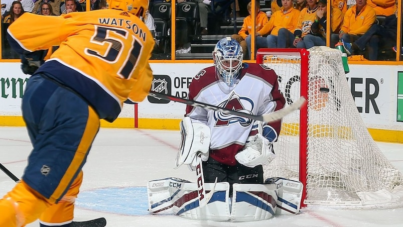 Colorado Avalanche v Nashville Predators - Game Two
