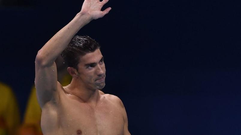 Phelps officiellement à la retraite