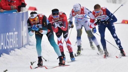 Alex Harvey et ses coéquipiers terminent 12e au relais