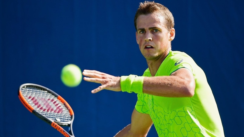 Vasek Pospisil s'incline à Anvers