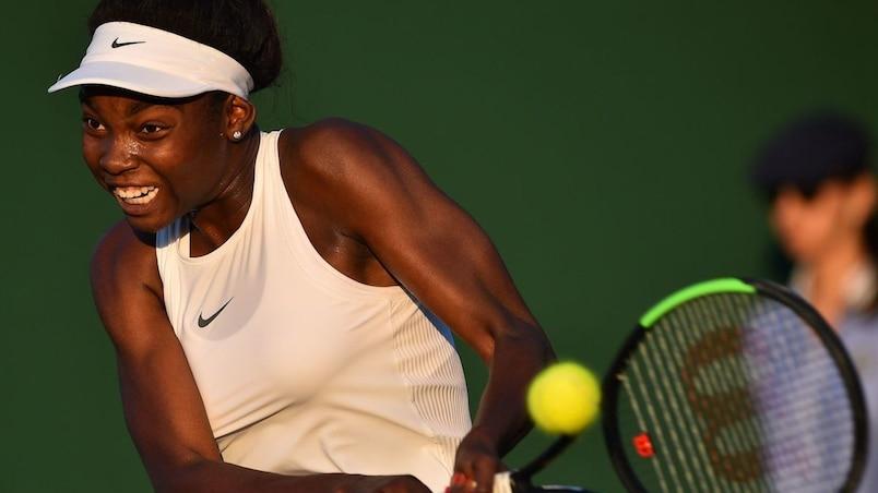 Tennis Canada derrière Françoise Abanda