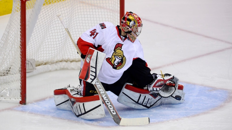 NHL: Ottawa Senators at Colorado Avalanche
