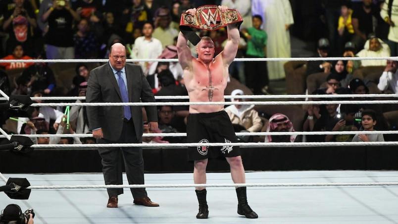 Cette semaine dans l'univers de la WWE: contre toute attente, Brock est à nouveau champion