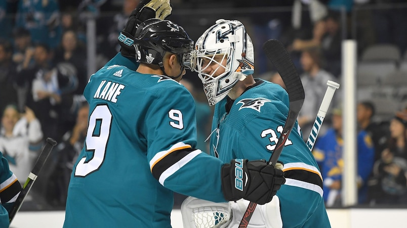 SPO-HKO-HKN-ANAHEIM-DUCKS-V-SAN-JOSE-SHARKS---GAME-THREE