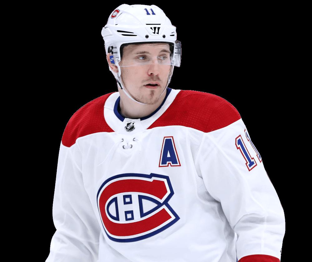 Brendan Gallagher, attaquant des Canadiens de Montréal