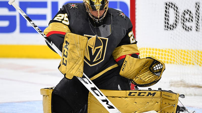 Marc-André Fleury, gardien de but des Golden Knights de Vegas