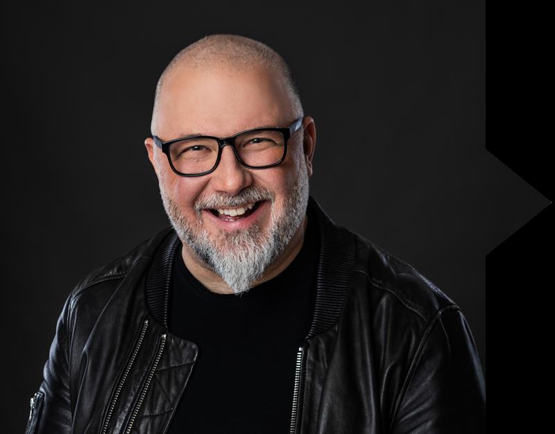 Jean-Charles Lajoie, animateur de l'émission JiC diffusée à TVA Sports
