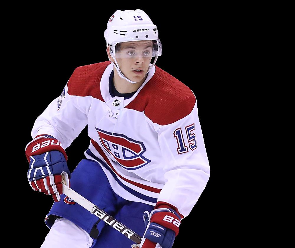 Jesperi Kotkaniemi, attaquant des Canadiens de Montréal