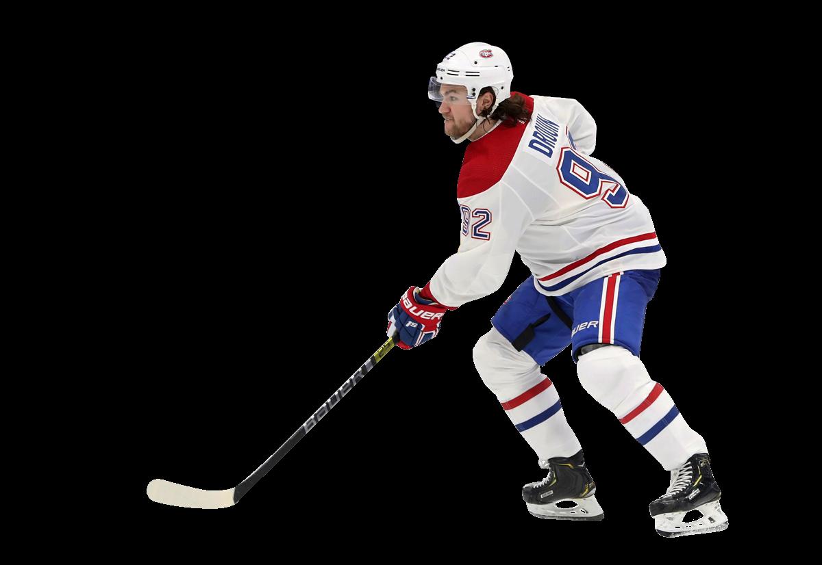Jonathan Drouin, attaquant des Canadiens de Montréal