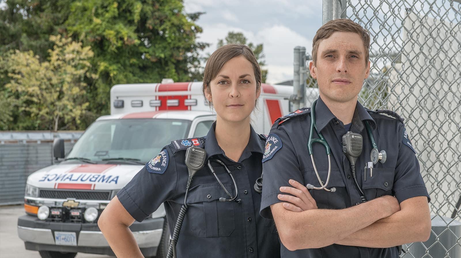 Ambulanciers : vivre dans l'urgence
