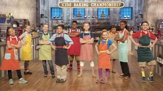 Le championnat de pâtisserie junior