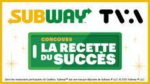 La recette du Succès Subway